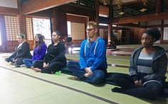 buddhist college students/flickr | KCP Fall 2015 Students Experience Zen Meditation