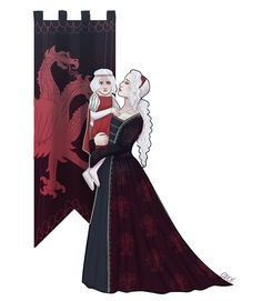 """coucyi: """"viserys lost his mind because he had to grow up without his lady mother and only friend rhaella. I'm not accepting any other theories. """""""