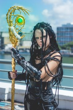 Rita Repulsa from Power Rangers Cosplay http://geekxgirls.com/article.php?ID=8930
