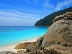 Turtle Beach at Perhentian Islands Malaysia - my favourite place ♡
