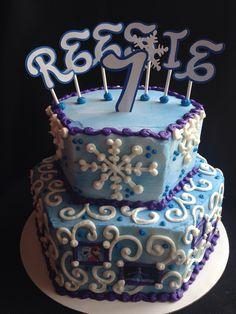 Frozen #3 - $75 Cakes By Stephanie, Frozen, Birthday Cake, Desserts, Food, Tailgate Desserts, Deserts, Birthday Cakes, Essen