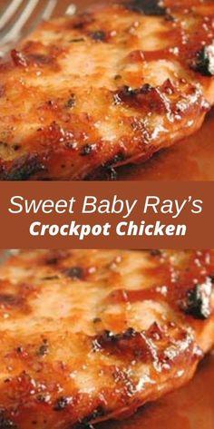 Healthy Crockpot Recipes, Easy Chicken Recipes, Slow Cooker Recipes, Cooking Recipes, Crockpot Chicken Healthy, Drink Recipes, Dinner Recipes, Crockpot Chicken Casserole, Crockpot Bbq Chicken