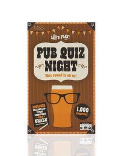 Pub Quiz Night - Marks & Spencer