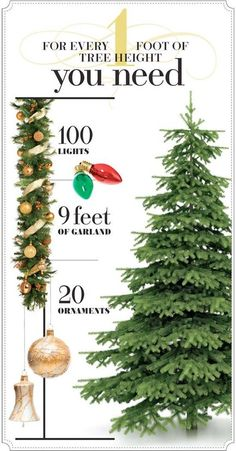 super handy chart will keep you from buying excess tree decorations. This super handy chart will keep you from buying excess tree decorations. -This super handy chart will keep you from buying excess tree decorations. Merry Little Christmas, Noel Christmas, Winter Christmas, Christmas Movies, Black Christmas, How Decorate Christmas Tree, Christmas Tree Types, Garland On Christmas Tree, Rustic Christmas