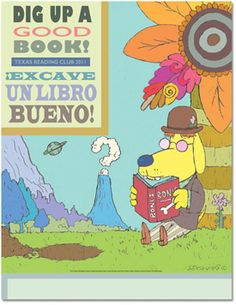 """Texas's """"Dig Up a Good Book"""" summer reading manual. Use for the 2013 CSLP theme. If you want even more resources..."""