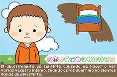 Cuaderno educativo de educación emocional Action Verbs, Classroom Decor, Toddler Activities, Kindergarten, Homeschool, Family Guy, Feelings, Comics, Fictional Characters