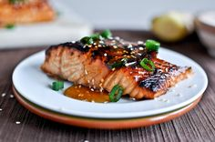salmon with soy and ginger
