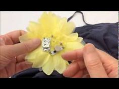 One of my e-textiles tutorials produced for Kitronik - LED Brooch with Magnetic Switch