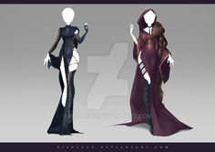 (CLOSED) Adoptable Outfit Auction 183 - 184 by Risoluce.deviantart.com on @DeviantArt