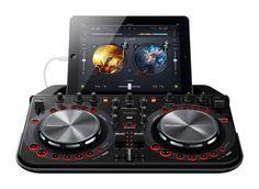 £339 Show price with a pair of HDJ500 Headphones Pioneer DDJ-WeGo 2 Black DJ Controller for iPhone/iPod