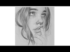 How to draw a girl step by step drawing in pencil shading - YouTube Pencil Shading, Pencil Drawings, Claudia Schiffer, How To Draw Hair, Best Model, Step By Step Drawing, Shades, Portraits, Image