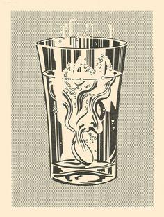 Alka Seltzer by Roy Lichtenstein, 1966