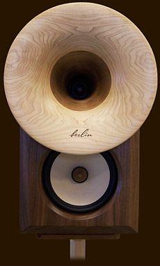 dc10audio horn loudspeakers: Stand-mount & floor-standing
