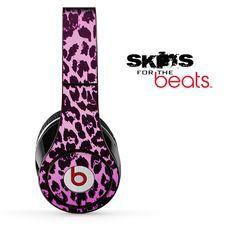 Pink leopard print beats
