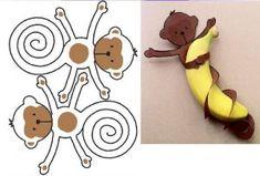 recycled monkey craft