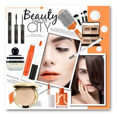 """Orange beauty story"" by svijetlana ❤ liked on Polyvore featuring beauty, Charli, Louis Vuitton, By Terry, Uslu Airlines, Anastasia Beverly Hills, Marc Jacobs, Charlotte Tilbury, Urban Decay and Guerlain"