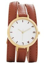 Wrap Time Watch in Brown | Mod Retro Vintage Watches | ModCloth.com