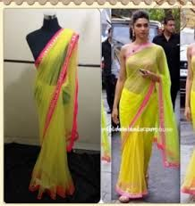 Image result for deepika padukone exclusive saree collection