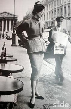 MODES ANNEES 1940-1950-1960