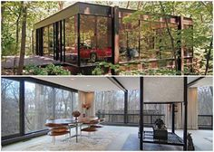 The Ben Rose house and pavilion designed by James Speyer and David Haid in 1953. Click on the image to see more.