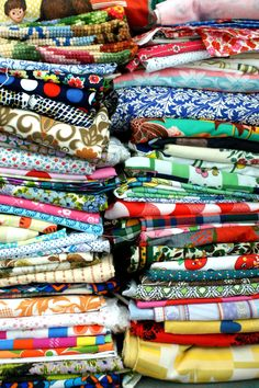 collection vintage fabric