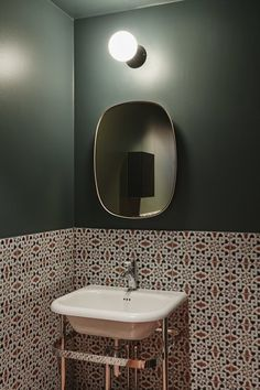Gallery Of The Pool House Luigi Rosselli 10 Architecture - Green-bathroom-tile
