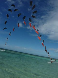 More kiteboarding