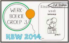 Juf Shanna: Kinderboekenweek 2014: werkboekje voor groep 3