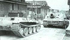 Bergepanther pulling Sturmtiger | by Net-Maquettes