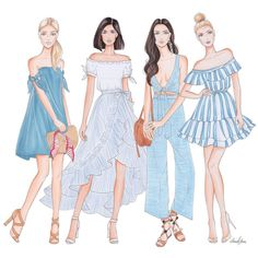 64 ideas fashion sketches dresses illustrations girls for 2019 Dress Illustration, Fashion Illustration Sketches, Fashion Sketches, Fashion Design Sketchbook, Fashion Design Drawings, Fashion Art, Trendy Fashion, Girl Fashion, Trendy Style