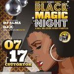 Black Magic éjszaka funky party