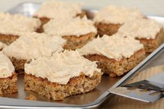 For The Ultimate PB Lovers: Peanut Butter-Frosted Oatmeal Peanut Butter Bars