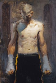 Steve Huston. Hand Wraps.