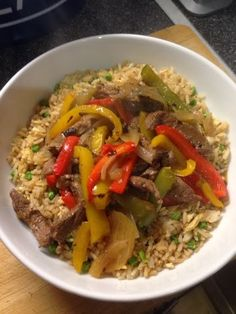 Vicki-Kitchen: Beef and peppers in black bean sauce (slimming world friendly)