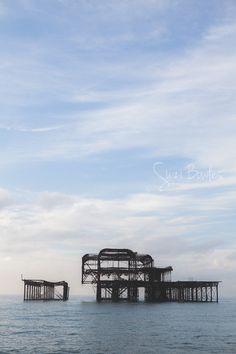 Alten Pier von Brighton Brighton Fotografie ikonischen