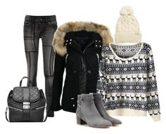 """Winter 4."" by szunda on Polyvore featuring Gianvito Rossi, Rella and MICHAEL Michael Kors"