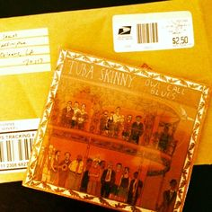Hoy llego a nuestra oficina en #miami para difusion! today arrive to our #miami #office! #TubaSkinny #NewOrleans #USA #Jazz #Blues #Folk #Indie #alternative #band thanks for sending us your album! gracias por enviarnos su disco! you can listen them from all the world on #RadioMangoPapaChango #Indie #Radio #Music #Station #Argentina ! @mangopapachango @tubaskinny