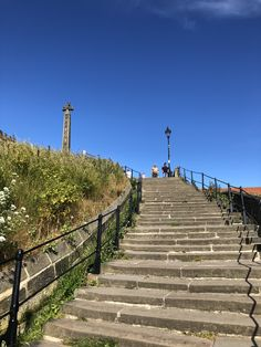 Climb up the 199 steps to St Mary's Church Whitby the go through the grave yard to Whitby Abbey. Beautiful Birds, Beautiful Places, Whitby England, Robin Hoods Bay, Whitby Abbey, James Cook, British Seaside, Seaside Towns, North Yorkshire