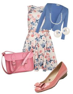 """""""Ladylike Easter Outfit"""" by jabetstelter on Polyvore"""