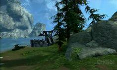 Halo Reach- Paradiso Map Flythrough  #HaloReach #Paradiso #Map #Flythrough
