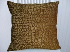 Brown Velvet Pillow Cover--18x18 or 20x20 or 22x22 Decorative Throw Pillow-Accent Pillow