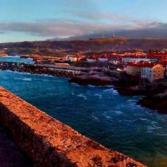 On instagram by eduardgarciaroc #landscape #contratahotel (o) http://ift.tt/23QlHn9 #llanes #asturias #principadodeasturias #cantabrico #paisajes #naturaleza_asturias #nature_perfection #nature #pueblo #atardecer #puestadesol #postadesol #h20_natura #instan_taneo #photonature #photooftheday #fotodeldia #gang_family #ig_global_life #ig_great_pics #estaes_espania #estaes_asturias #igersasturias #ig_asturias #loves_asturias #loves_sunset #sunset