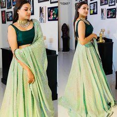 Indian Gowns Dresses, Indian Fashion Dresses, Indian Designer Outfits, Indian Outfits, Designer Dresses, Indian Western Dress, Dress Indian Style, Lehnga Dress, Lehenga Choli