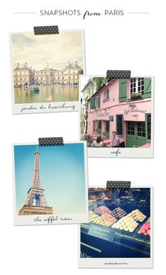 Snapshots from Paris | Style Me Pretty Living