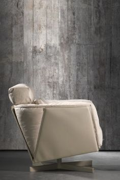 For that urban industrial look: concrete wallpaper by Piet Boon CON - 02