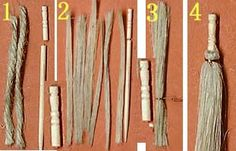 Three different styles of brooms to make here, in Japanese but can be translated with Google