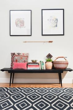 styling // front entry way