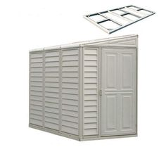 DuraMax Building Products Storage Shed (Common 8-ft x 4-ft  sc 1 st  Pinterest & Arrow Yard Saver 4 ft. x 7 ft. Storage Shed   Yards Storage and House