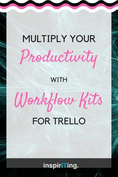 Trello's praised simplicity quickly descends into chaos the moment people require cross-board functionality. With Workflow Kits to be imported right into a Trello board, you can setup workflows and even automated systems that allow automated cross-board planning and scheduling functionality in a matter of minutes. #Workflows #Productivity #Trello #Dashboard #Systems #Automations