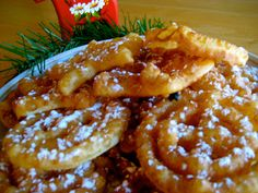 Norwegian Rosettes - my mother and I used to make these at Christmas......